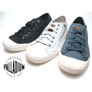 パラディウム PALLADIUM パラルー リネンコットン スニーカー メンズ 靴|nws