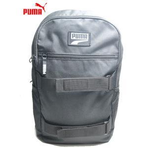 PUMA プーマ デッキ バックパック 23L プーマブラック メンズレディース 鞄【ラッピング不可】|nws