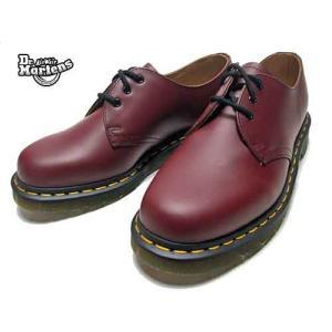 ドクターマーチン Dr.Martens 1461 MONO プレーントゥ 3-EYE SHOE 3ホール チェリーレッド メンズ レディース 靴|nws
