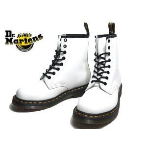 ドクターマーチン Dr. Martens 11822100 1460 8 ホール ブーツ ホワイト レディース 靴|nws