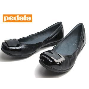 アシックス ペダラ asics Pedala 1212A004 コンフォートデザインパンプス ブラック レディース 靴|nws