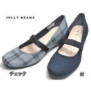 ジェリービーンズ JELLY BEANS ミニリボンベルトパンプス レディース 靴|nws
