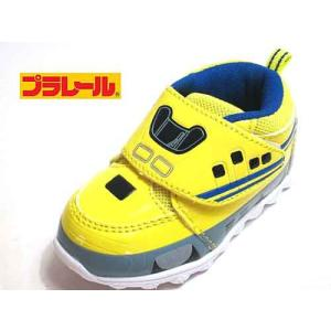 トミカ プラレール TOMICA PLARAIL ドクターイエロー マジックタイプ スニーカー イエロー キッズ 靴|nws