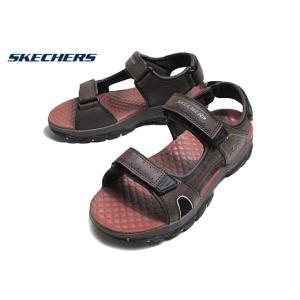 スケッチャーズ SKECHERS 204106 TRESMEN HIRANO チョコレート スポーツサンダル メンズ 靴 nws