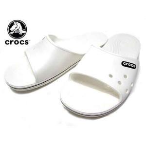 クロックス CROCS クロックバンド 2.0 スライド サンダル ホワイトブラック メンズ レディース 靴|nws