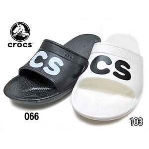 クロックス crocs クラシック グラフィック スライド Classic Graphic Slides サンダル メンズ レディース 靴|nws