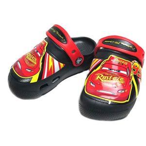 クロックス CROCS ファン ラブ マックイーン ライツ クロッグ サンダル ブラック キッズ 靴|nws