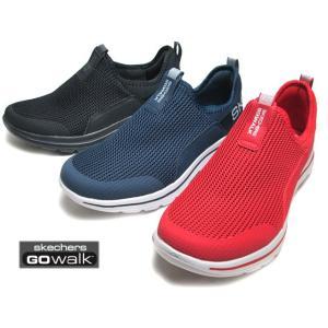 スケッチャーズ SKECHERS 216015 ゴーウォーク 5 ダウンドラフト スリッポン スニーカー メンズ 靴|nws