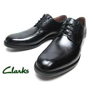 クラークス CLARKS べックフィールドオーバー スワールモカ レースアップ ビジネスシューズ ブラック メンズ 靴 nws