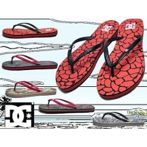 ディーシーシューズ DC SHOES ウィメンズ スプレー グラフィック ビーチサンダル レディース 靴|nws