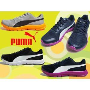 プーマ PUMA フレックス レーサー ランニングスタイル スニーカー レディース 靴 nws