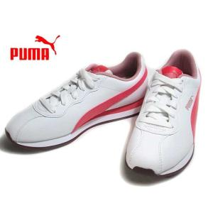 プーマ PUMA チューリン 2 BG プーマホワイトカリプソコーラル スニーカー キッズ 靴|nws
