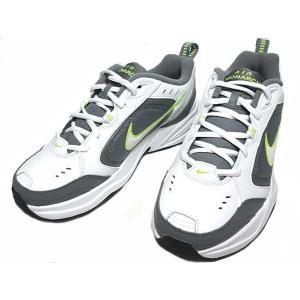 ナイキ NIKE エアモナーク4 トレーニングシューズ ホワイトホワイトクールグレー メンズ 靴|nws