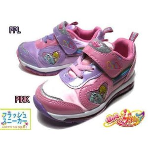 HUGっと!プリキュア フラッシュスニーカー 光る靴 スニーカー キッズ 靴|nws