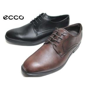 エコー ECCO MELBOURNE Plain Toe Tie 621634 プレーントゥレースアップ ビジネスシューズ メンズ 靴|nws