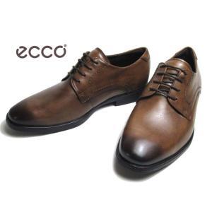エコー ECCO MELBOURNE Plain Toe Tie 621634 アンバー プレーントゥレースアップ ビジネスシューズ メンズ 靴|nws