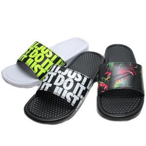 ナイキ NIKE ベナッシ JDI プリント 631261 スライドサンダル メンズ 靴|nws