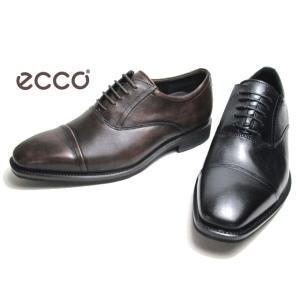 エコー ECCO CALCAN Balmoral Straight Tip 640744 ストレートチップ ビジネスシューズ メンズ 靴|nws