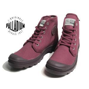 パラディウム PALLADIUM PAMPA HI ORIGINALE CABERNET スニーカー メンズ レディース 靴|nws