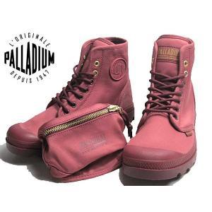 パラディウム PALLADIUM PAMPA SOLID RANGER SHA ワインレッド レディース 靴|nws