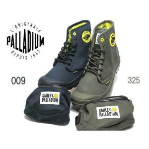 パラディウム PALLADIUM PAMPA SMILEY FEST BAG ミニポーチ付き メンズ レディース 靴|nws
