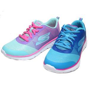 スケッチャーズ SKECHERS GOrun 400 Shimmer Zooms トレーニングスニーカー キッズ 靴|nws