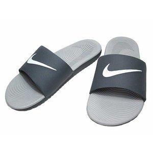 NIKE ナイキ KAWA SLIDE カワ スライド サンダル ダークグレー メンズ レディース 靴|nws