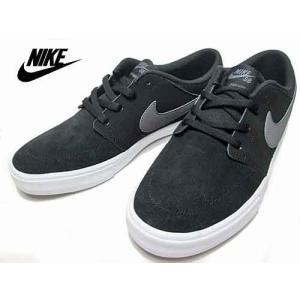 ナイキ NIKE SB ポートモア 2 SS スニーカー ブラック メンズ 靴|nws