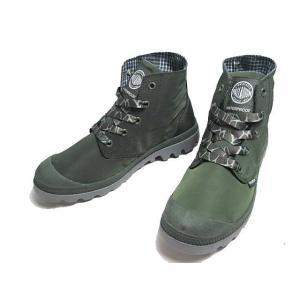 パラディウム PALLADIUM パンパ パドル ライト ウォータープルーフ Rグリーン レディース 靴|nws