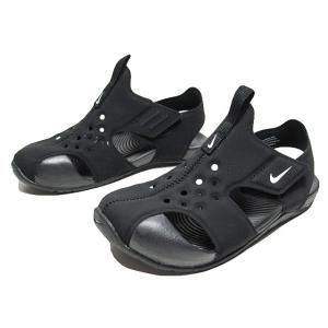 NIKE ナイキ サンレイ プロテクト2 リトルキッズサンダル ブラック 靴|nws
