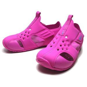 NIKE ナイキ サンレイ プロテクト2 リトルキッズサンダル ハイパーマゼンタ/(943828-500) 靴|nws
