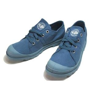 パラディウム PALLADIUM Pampa Low LP MAJOLICA BLUE/CITADEL スニーカー レディース 靴|nws