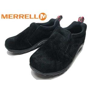 メレル MERRELL ジャングル モック キッズ JUNGLE MOC KIDS スニーカー ブラック キッズ 靴|nws
