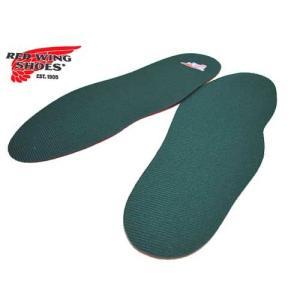 レッドウィング RED WING SHOES フラットインソール シェイプトコンフォート・フットベッド グリーン 薄手 アクセサリー 靴 nws