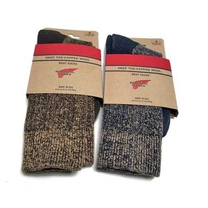 レッドウィング RED WING アクセサリー ディープ トゥキャップト ウール ブーツ ソックス 靴下 メンズ 靴 nws