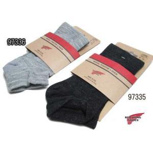 レッドウィング RED WING ACCESSORIES ウール フッティー ショートソックス メンズ 靴下|nws