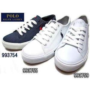 ポロラルフローレン Polo RalphLauren SLATER キャンバス スニーカー キッズ レディース 靴|nws