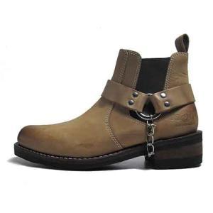 アルファ インダストリーズ ALPHA INDUSTRIES リングウエスタンブーツ ブラウン メンズ 靴|nws