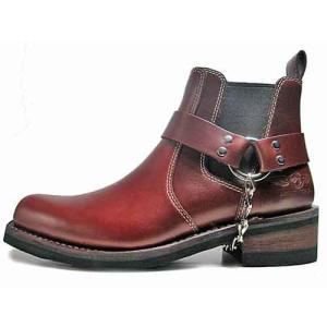 アルファ インダストリーズ ALPHA INDUSTRIES リングウエスタンブーツ  ダークブラウン メンズ 靴|nws