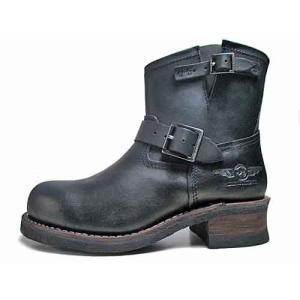 ☆アルファ インダストリーズ ALPHA INDUSTRIES ショートエンジニアブーツ  ブラック メンズ 靴|nws