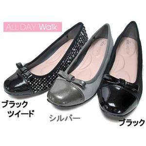 オールデイウォーク ALL DAY Walk パンプスなのに歩きやすい スクエアトゥ パンプス×スニーカー レディース 靴|nws