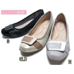 オールディウォーク ALLDAY Walk パンプスなのに歩きやすい スクエアトー パンプス×スニーカー レディース 靴|nws
