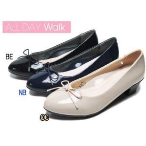 オールデイオーク ALL DAY Walk パンプスなのに歩きやすい アーモンドトゥタイプ パンプス×スニーカー レディース 靴|nws