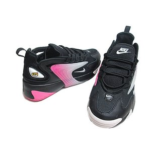 ナイキ WMNS NIKE ZOOM 2K ダッドスニーカー ブラックホワイトチャイナローズ レディース 靴|nws