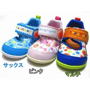 それいけ!アンパンマン オープンタイプベビーカジュアルシューズ 子供靴 ベビーシューズ キッズ 靴|nws
