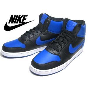 ナイキ NIKE エバノン MID SL ブラックゲームロイヤル スニーカー メンズ 靴|nws