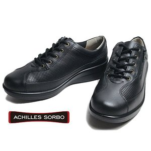 アキレス ソルボC スタンダード ACHILLES SORBO 034 ワイズ4E ウォーキングシューズ 黒 レディース 靴|nws