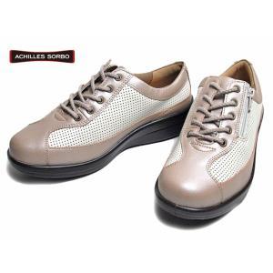アキレス ソルボC スタンダード ACHILLES SORBO 034 ワイズ4E ウォーキングシューズ ローズメタ レディース 靴|nws