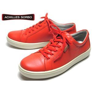 アキレスソルボ Achilles SORBO レースアップウォーキングシューズ スニーカー オレンジ レディース 靴 nws