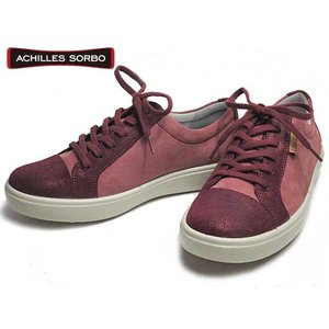 アキレスソルボ Achilles SORBO ウォーキングシューズ パープルMローズ レディース 靴|nws